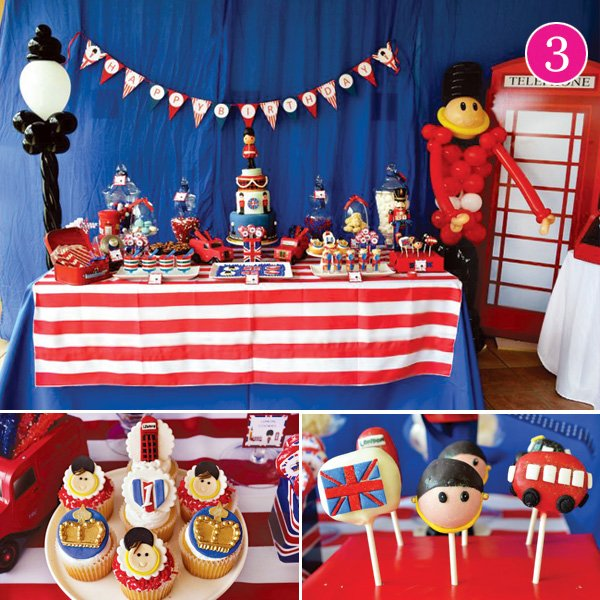 royal british birthday party