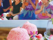 woodland fairy party desserts