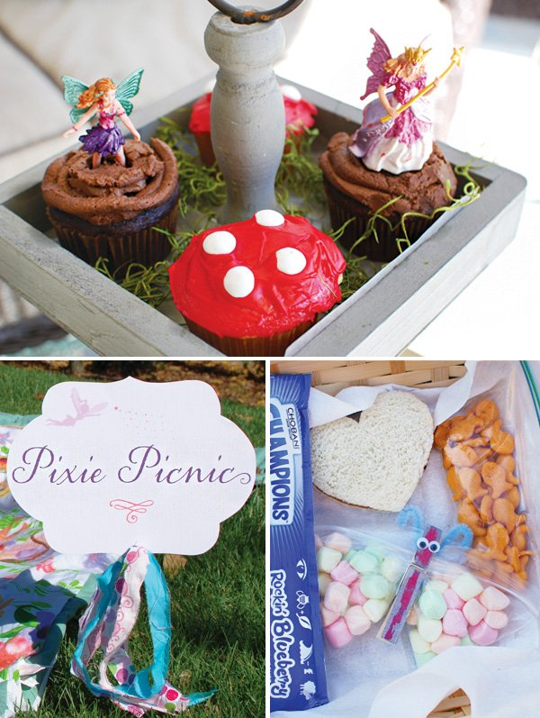 woodland fairy party picnic