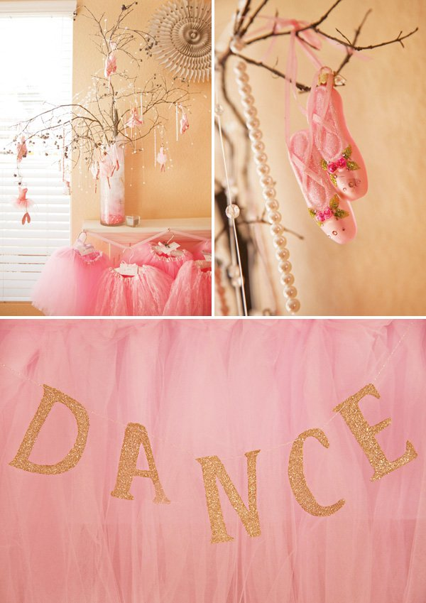 ballet party tree ornaments