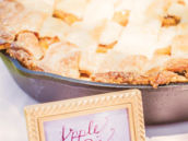 birthday party apple pie