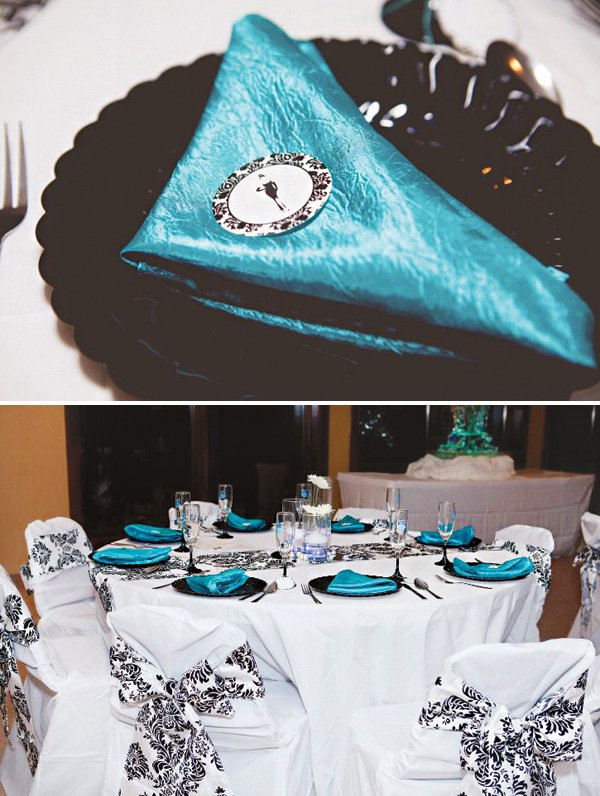 breakfast at tiffany's tablescape
