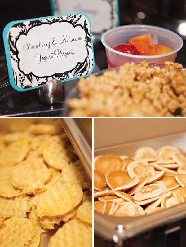 brunch party mini food ideas