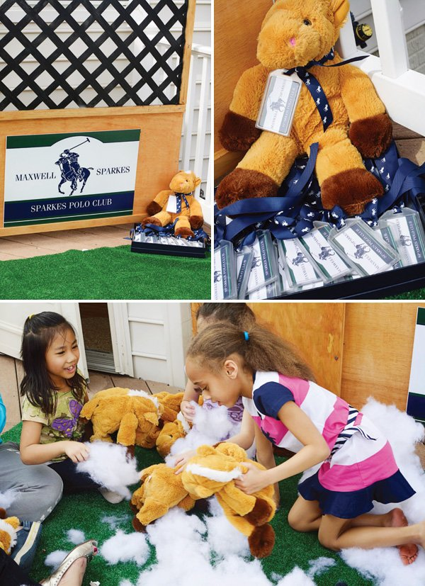 build a stuffed animal party activity