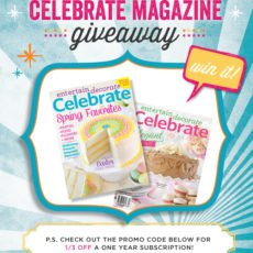 Celebrate Magazine Giveaway
