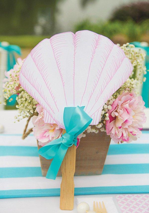 paper clamshell fan