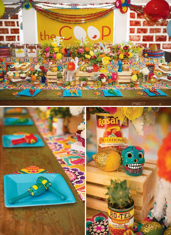 dia de los muertos party decor