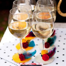 DIY Southern Belle Wine Glasses