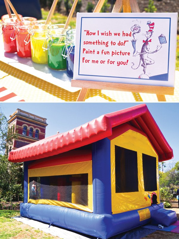 dr suess themed party activities