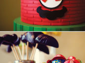 wasy DIY Mario Brothers lollipops
