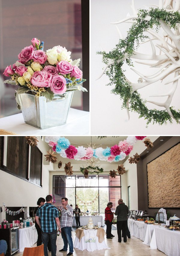 garden party decor and venue