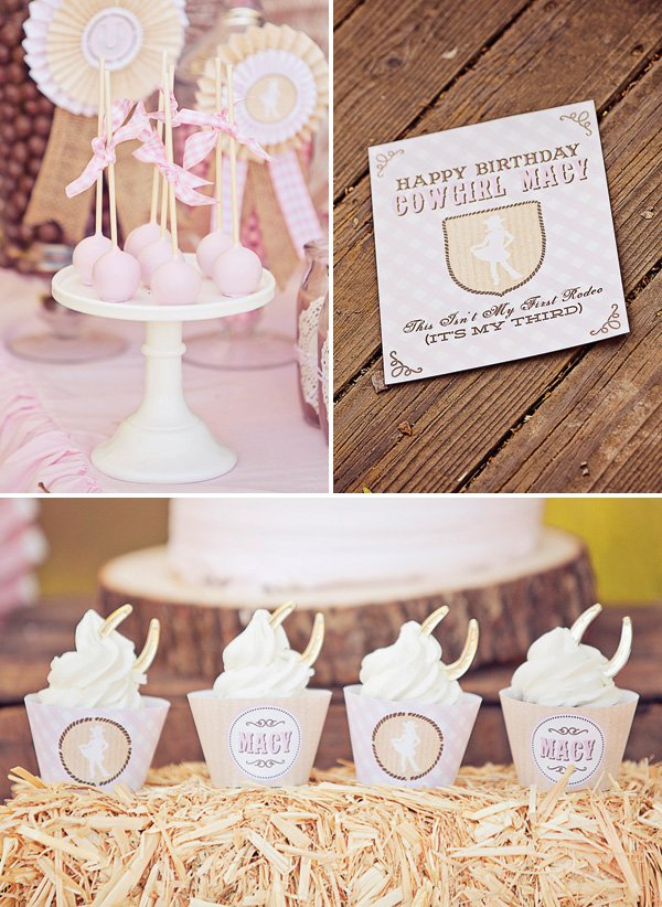 girly cowgirl party ideas