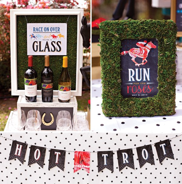 Kentucky Derby Party Printables - Garden Party Theme