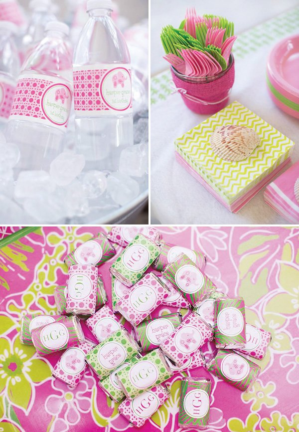 lilly pulitzer party decor and supplies