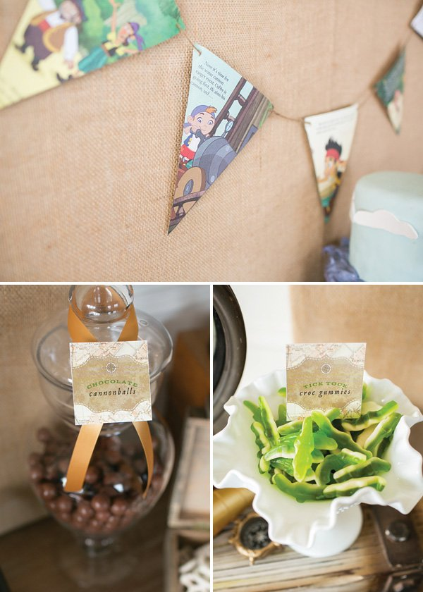 neverland candy and food names