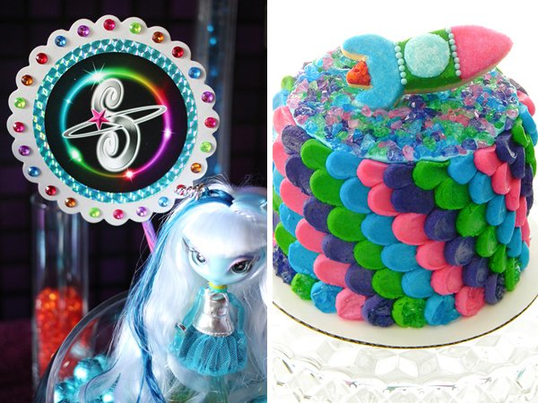 rainbow-petal-cake