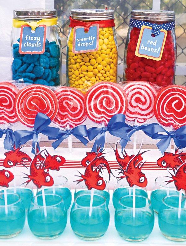 red fish jello bowls
