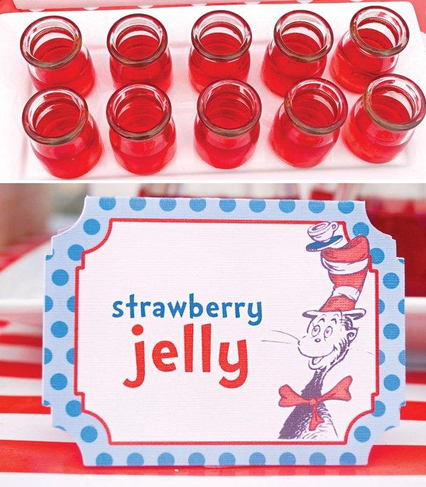 dr suess red jello pots