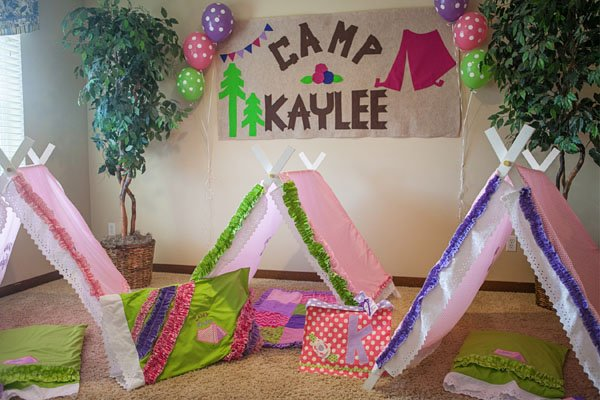 camping party tents