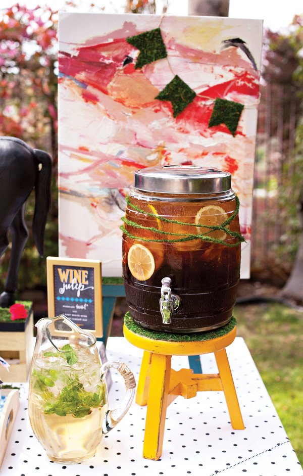 Garden Party Southern Sweet Tea