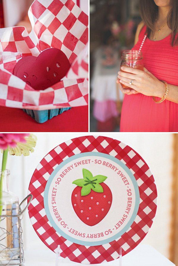 strawberry baby shower activities