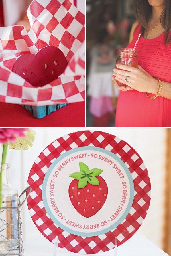 strawberry baby shower activities
