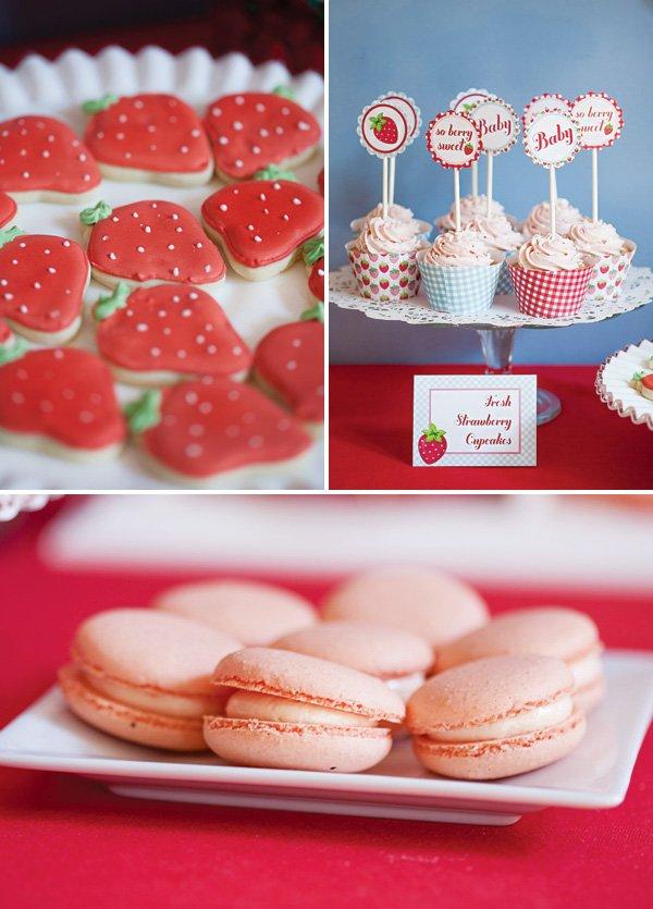 cute strawberry dessert ideas