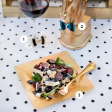 DIY Bow Tie Pasta Party Ideas