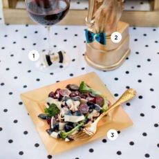 DIY Bow Tie Pasta Party Ideas