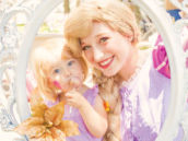 tangled inspired rapunzel photo frame