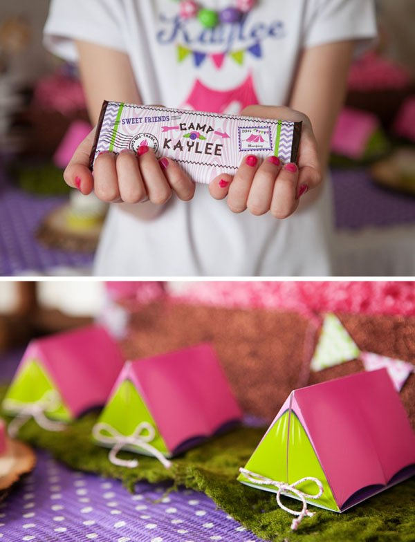 camping favor boxes