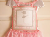 pink tutu dress party sign