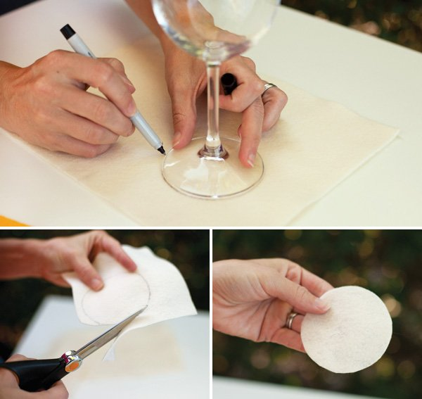 Wine Glass Derby Hat Tutorial Step 1