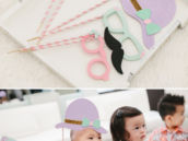 girly DIY photo booth props