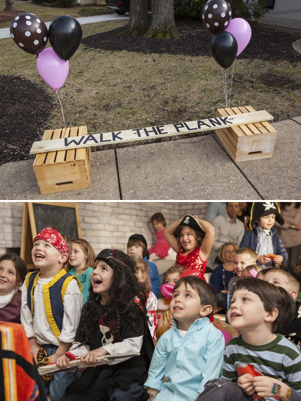 pirate party walk the plank game