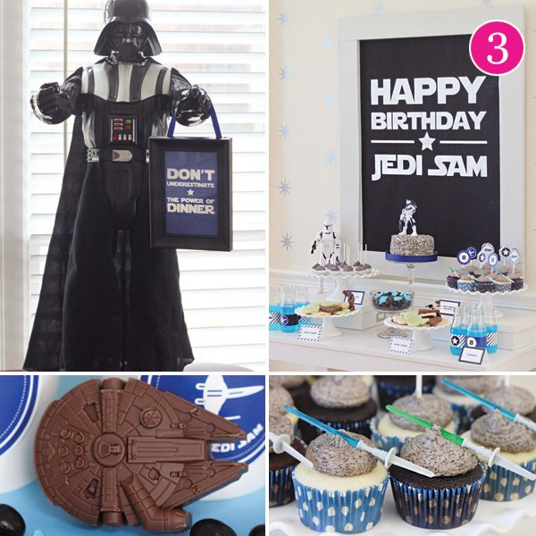 star wars jedi birthday party