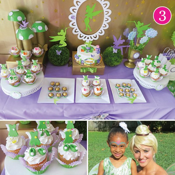 tinkerbell inspired fairy birthday party