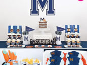varsity basketball half birthday party