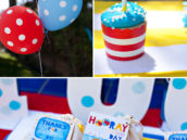 beach party decorations and party favors