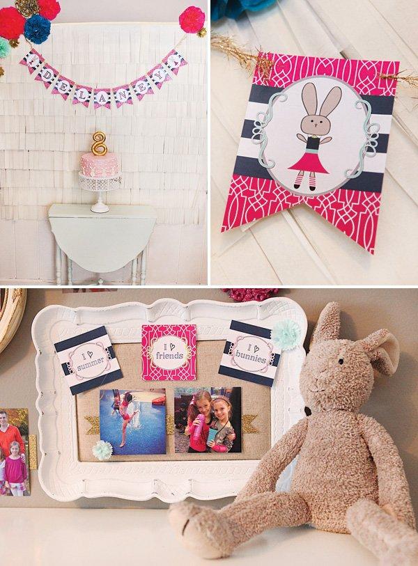 bunny rabbit party printables