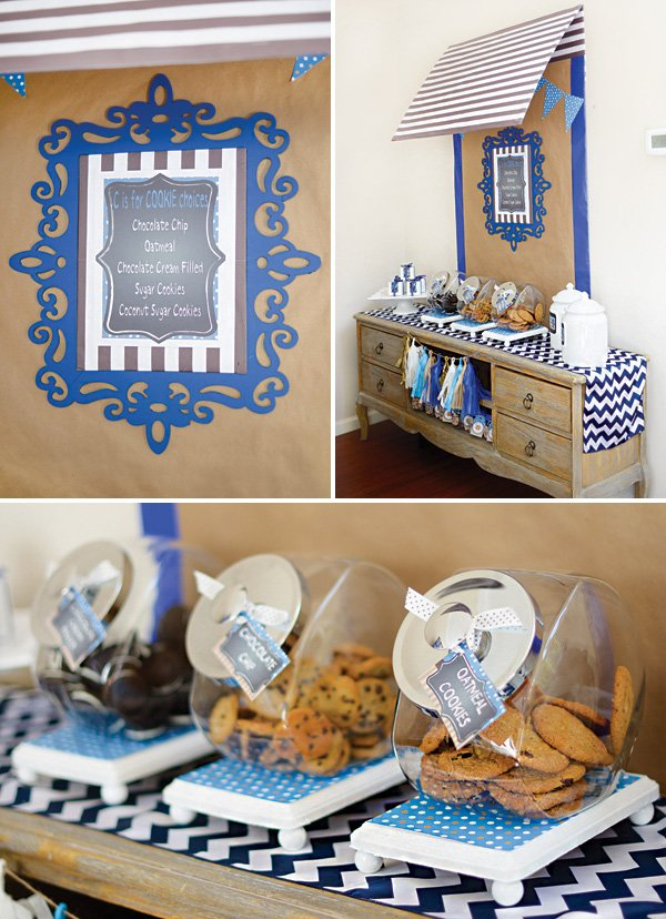 cookie monster party cookie buffet