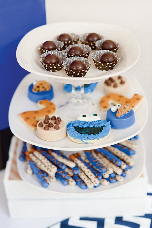 cookie monster themed desserts