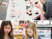cupcake decorating party activity