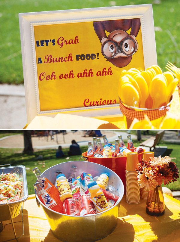 curious george party decorations