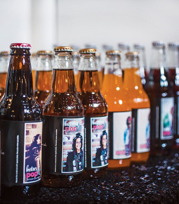 custom soda bottle labels for a birthday party