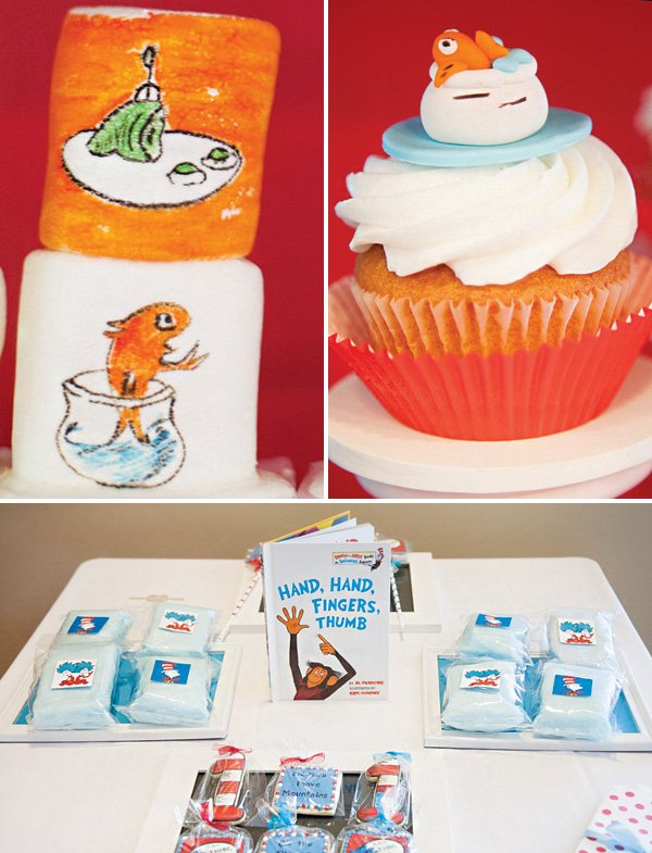 dr. suess themed party desserts