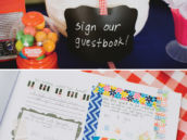 party guestbook decorating activity