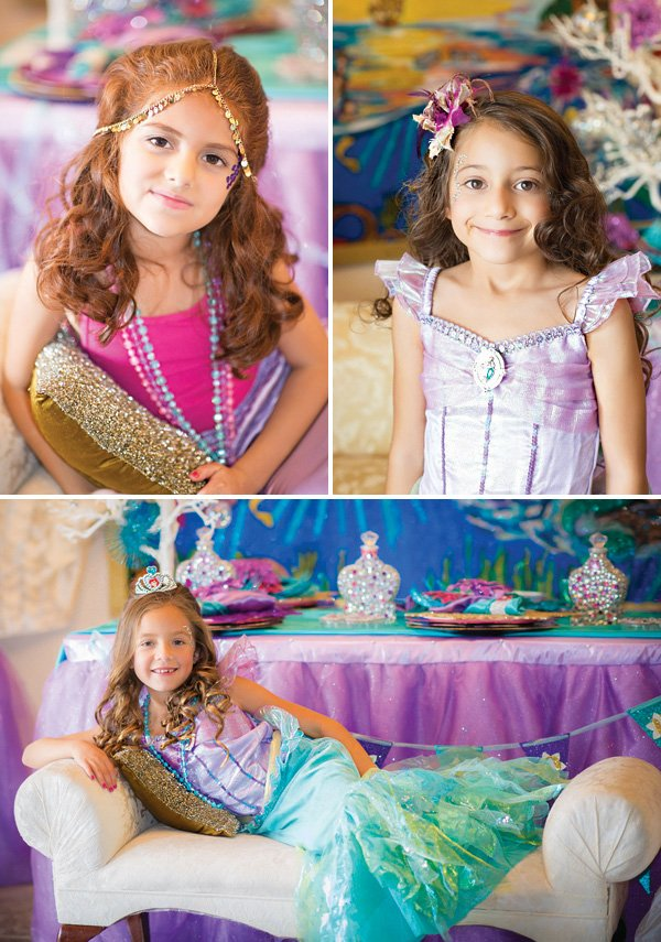 mermaid party costumes and accessories