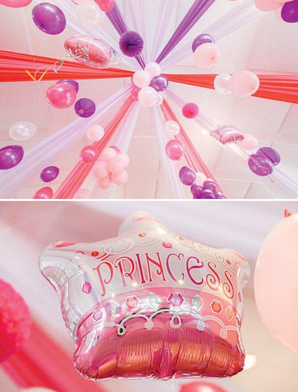 princess party balloons