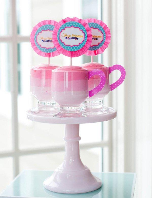 tea cup desserts